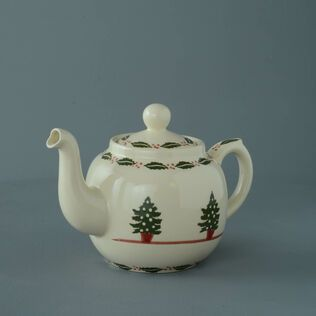 Teapot 4 Cup Christmas Tree