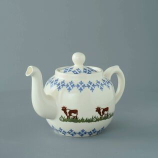 Teapot 4 Cup Cow