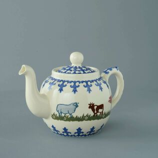 Teapot 4 Cup Farm Animal