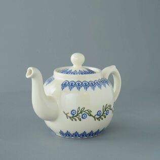 Teapot 4 Cup Floral Garland