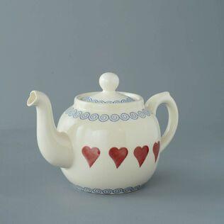 Teapot 4 Cup Heart