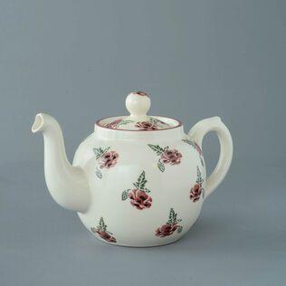 Teapot 4 Cup Poppy