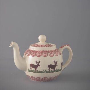 Teapot 4 Cup Reindeer
