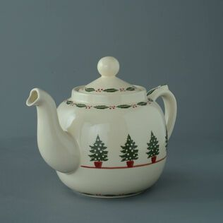 Teapot 10 Cup Christmas Tree