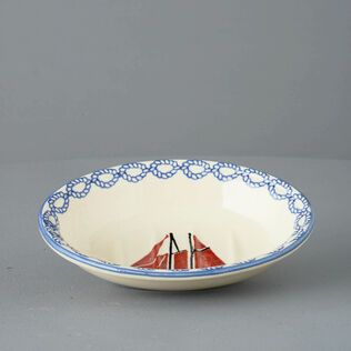 Soap dish oval Small Boat Sailing