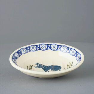 Soap dish oval Small Hippopotamus