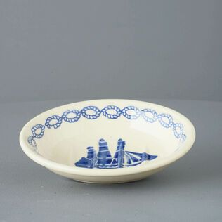Soap dish oval Small Ship - Square Rig