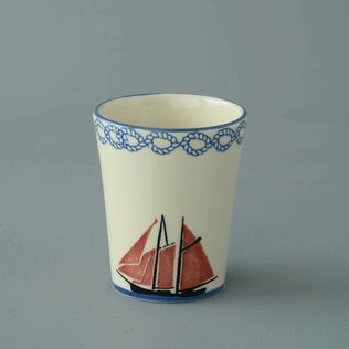 Bathroom Beaker Small Boat Sailing