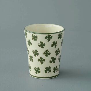 Bathroom Beaker Small Four leaf clover