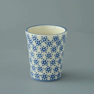 Bathroom Beaker Small Snowflake