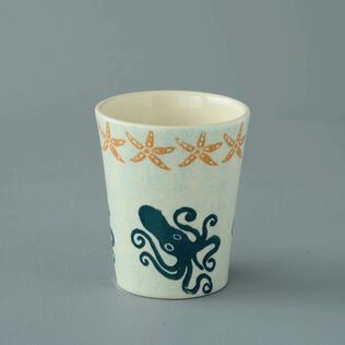 Bathroom Beaker Small Squid and starfish