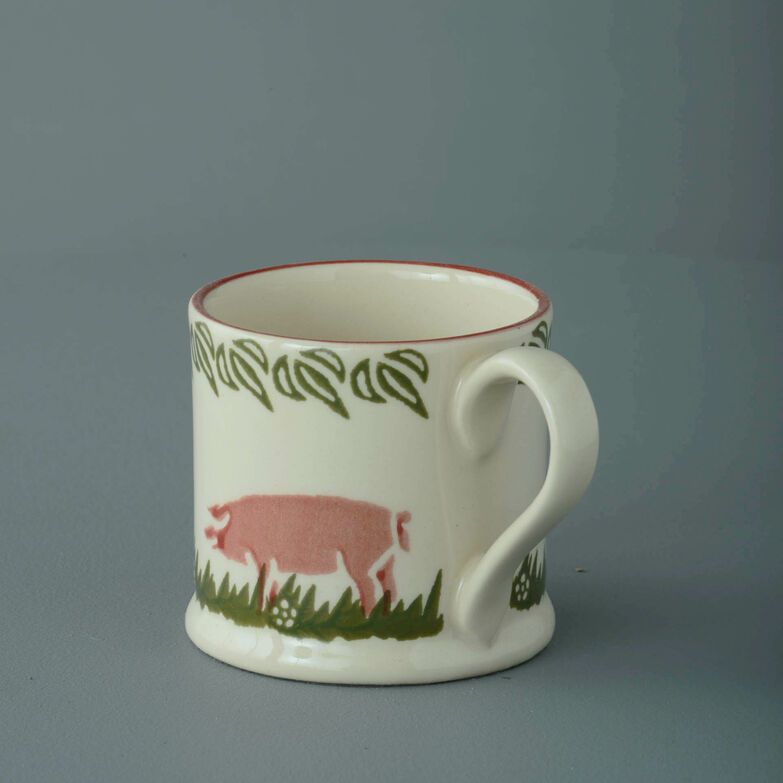 Mug Small Pink Pig