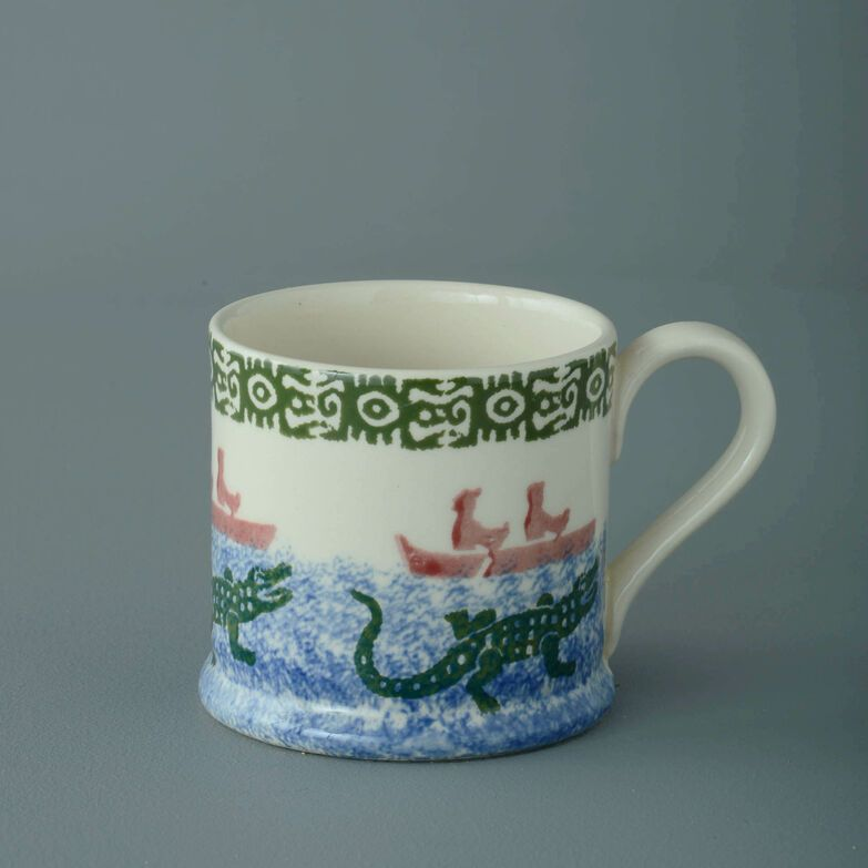 Mug Small Alligator and Boat