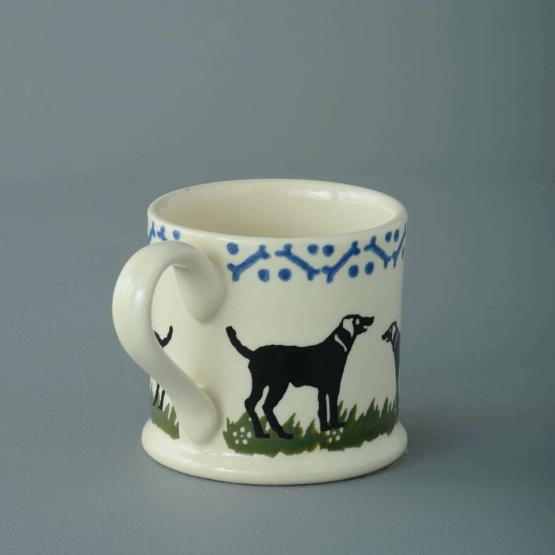Mug Small Dog Black Labrador