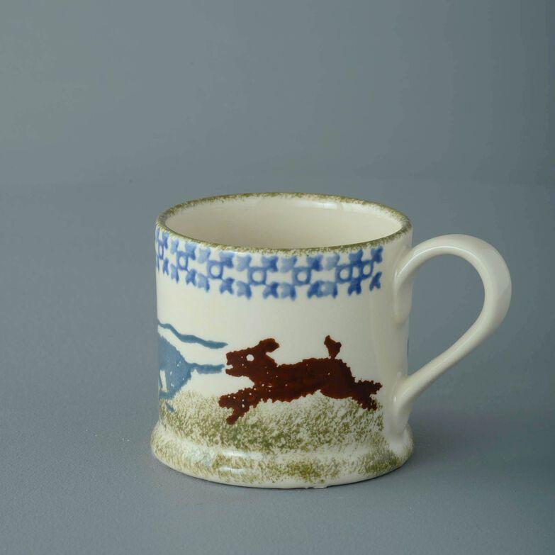 Mug Small Dog Scottie Chasing