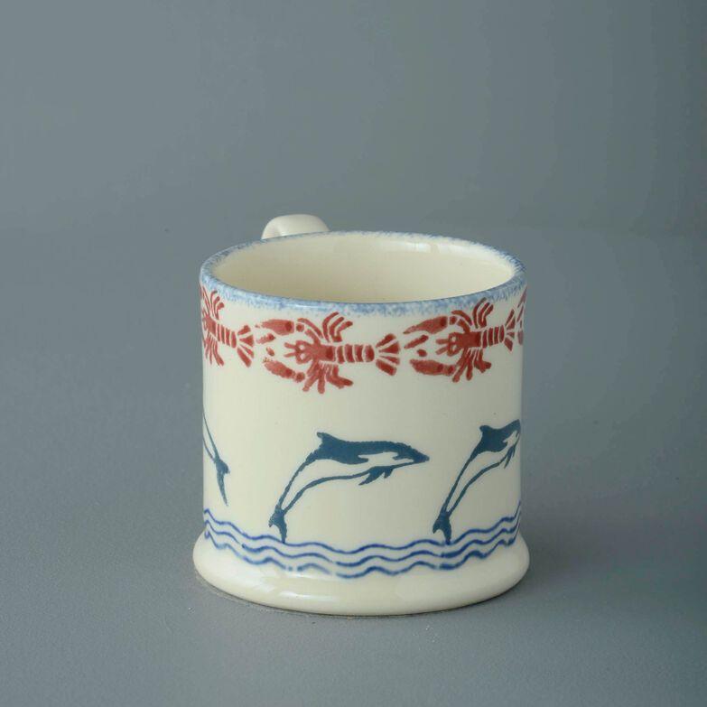 Mug Small Dolphin Leaping