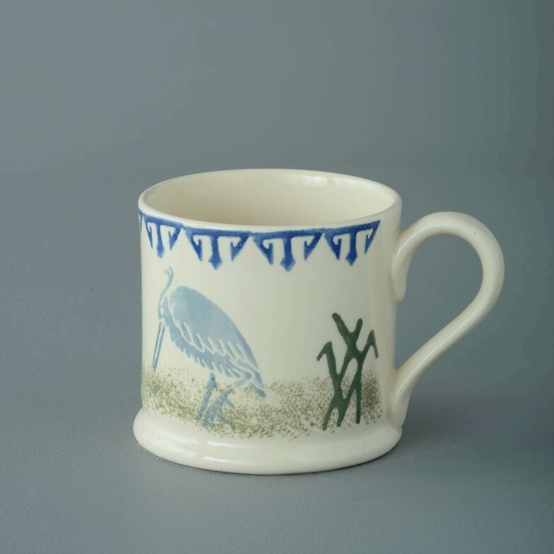 Mug Small Heron and Eel