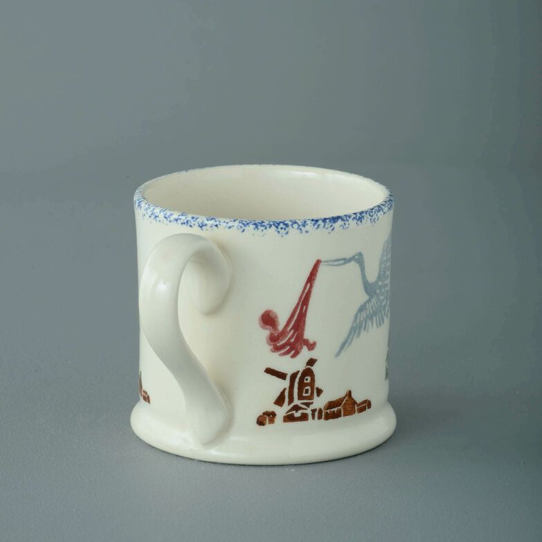 Mug Small Stork & Baby