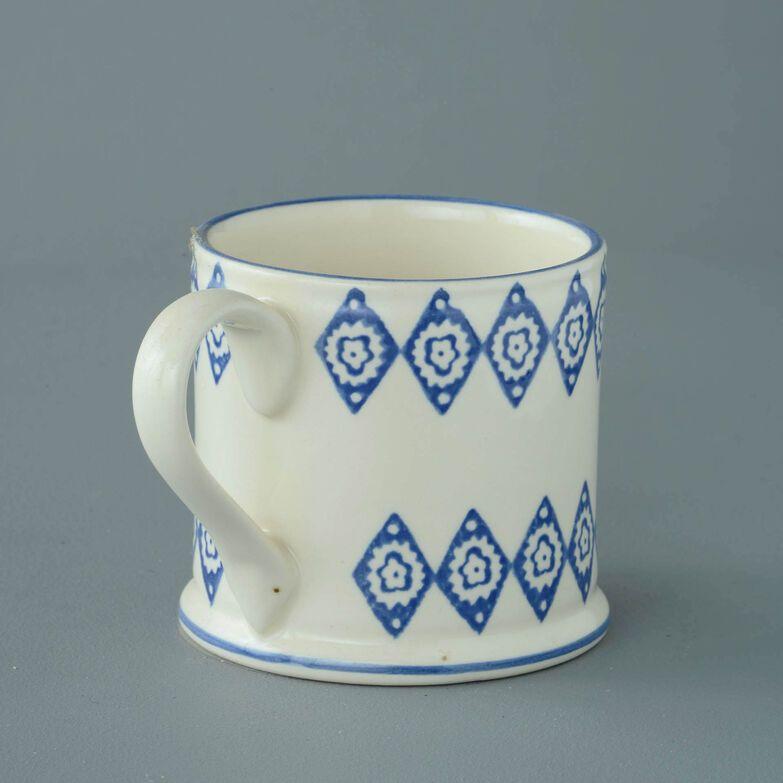 Mug Large Blue Diamond