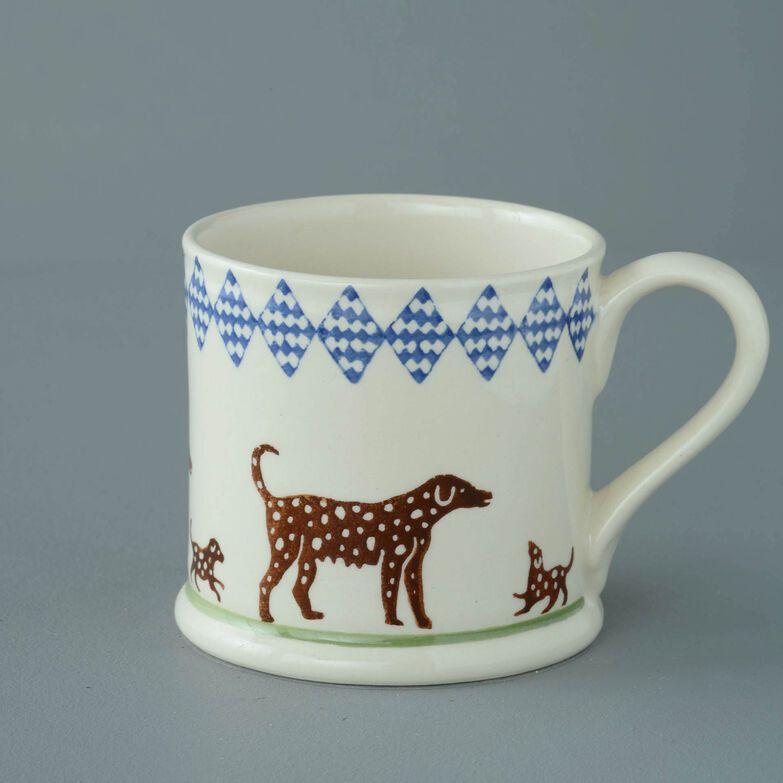 Mug Large Dog spotty