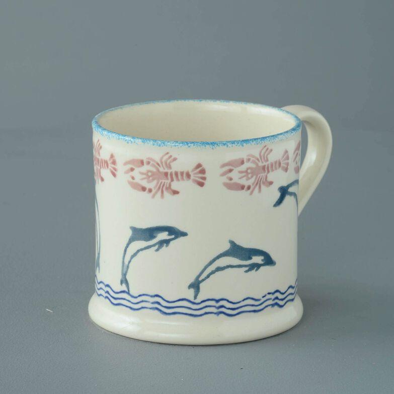 Mug Large Dolphin Leaping