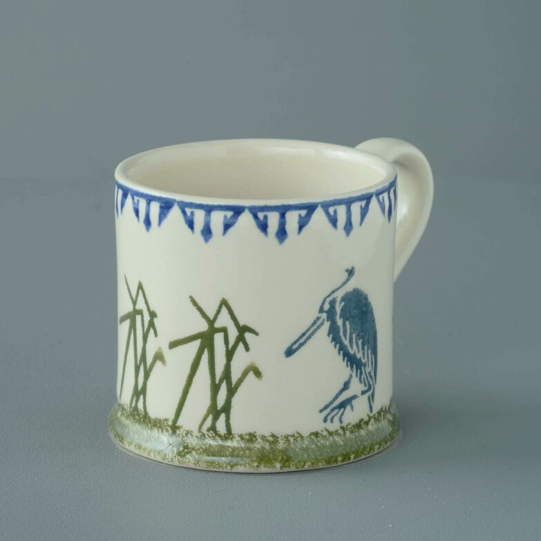 Mug Large Heron and Eel