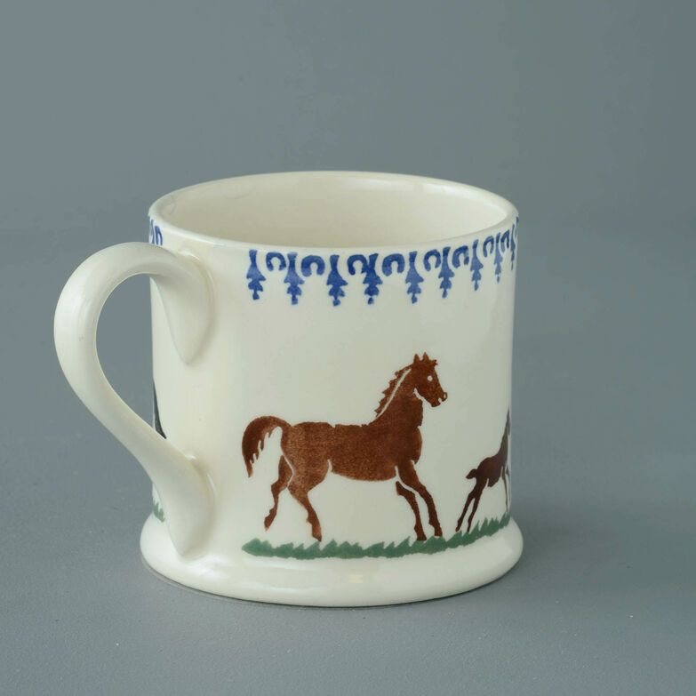 Mug Large Horse and Stallion