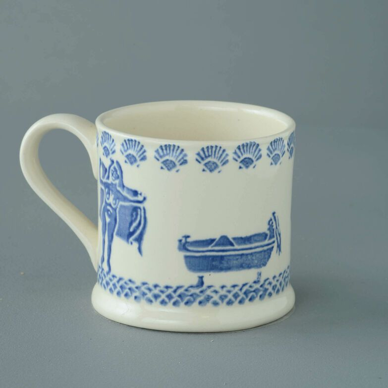 Mug Large Lady in the bath