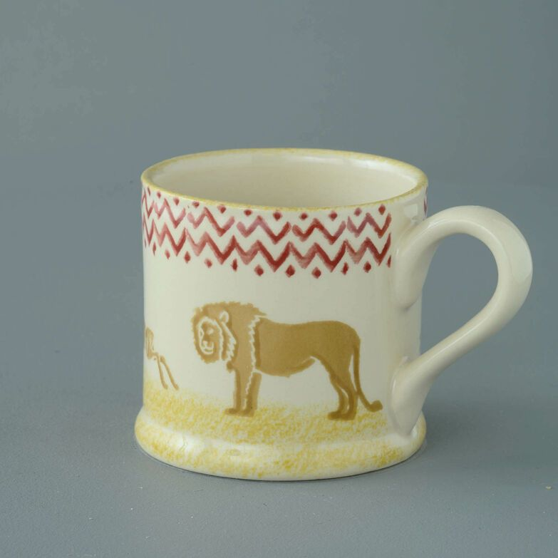 Mug Large Lion and Antelope