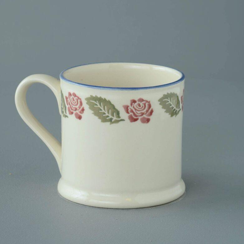 Mug Large Rose Border