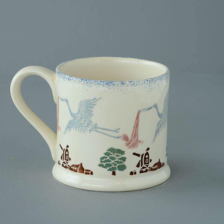Mug Large Stork & Baby