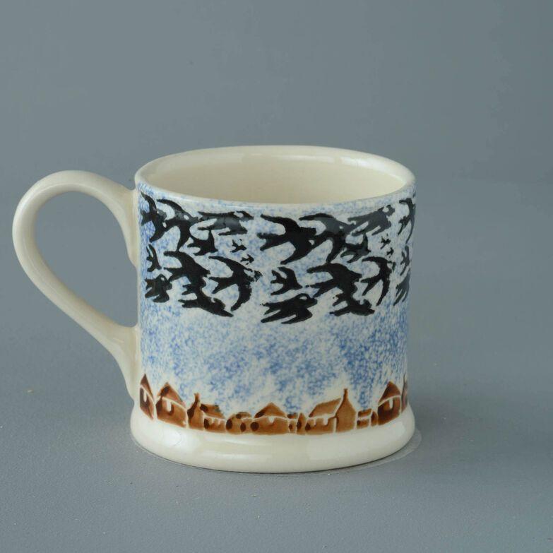 Mug Large Bird Swallows at dusk