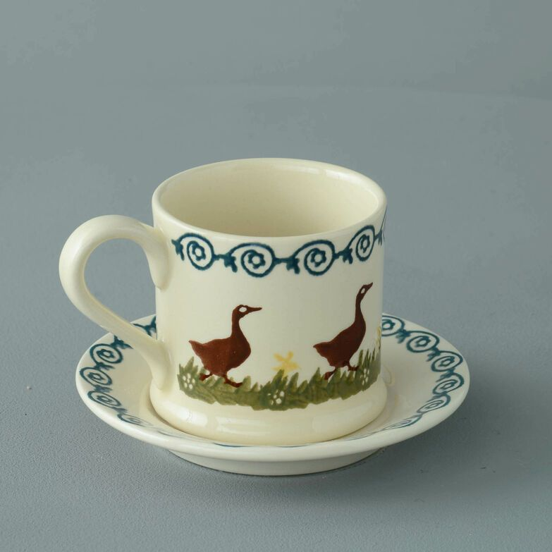 Mug & Saucer Small Duck