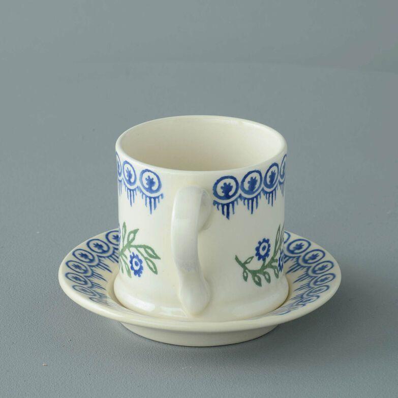 Mug & Saucer Small Floral Garland