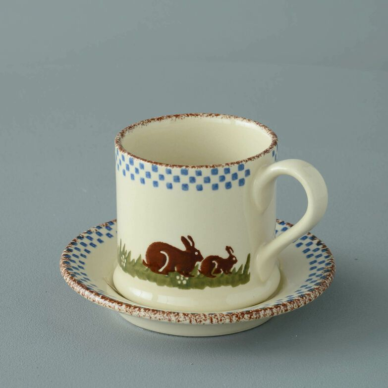 Mug & Saucer Small Rabbit