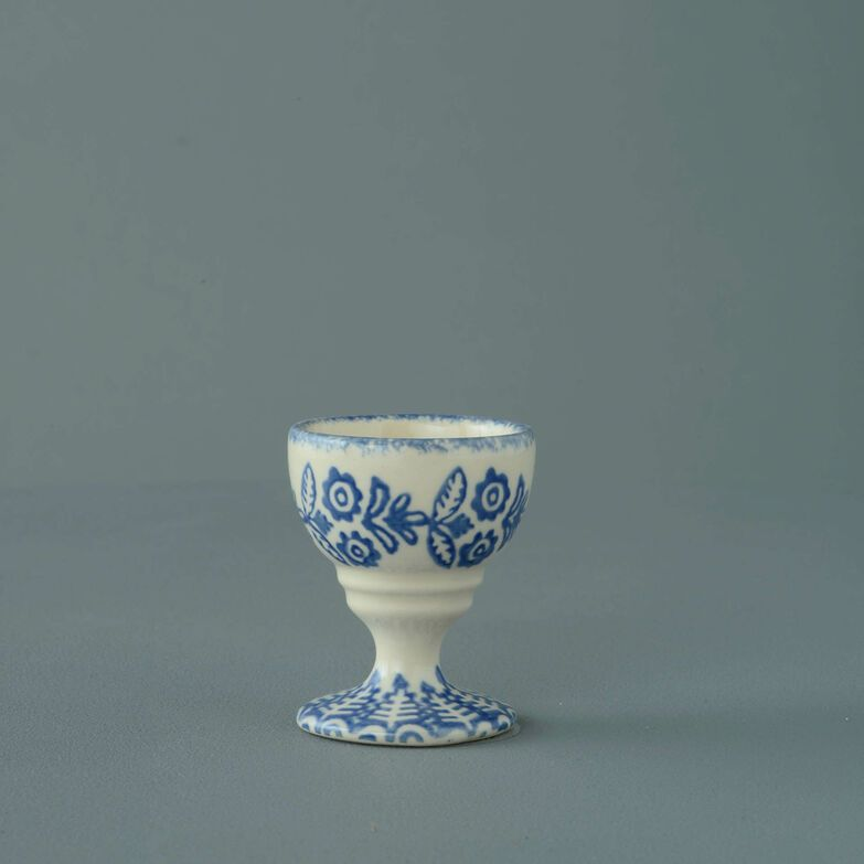 Egg Cup Small Lacey Blue