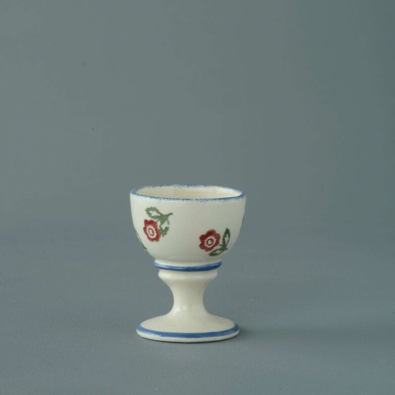 Egg Cup Small Scattered Rose