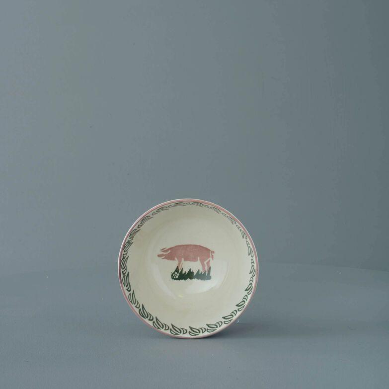 Bowl Small Pink Pig
