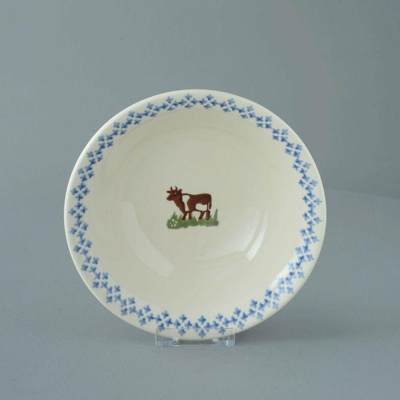 Bowl Porridge Size Cow
