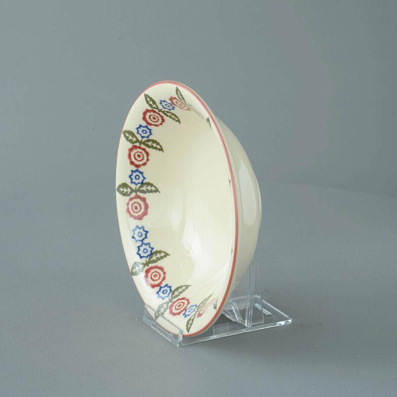 Bowl Porridge Size Victorian Floral