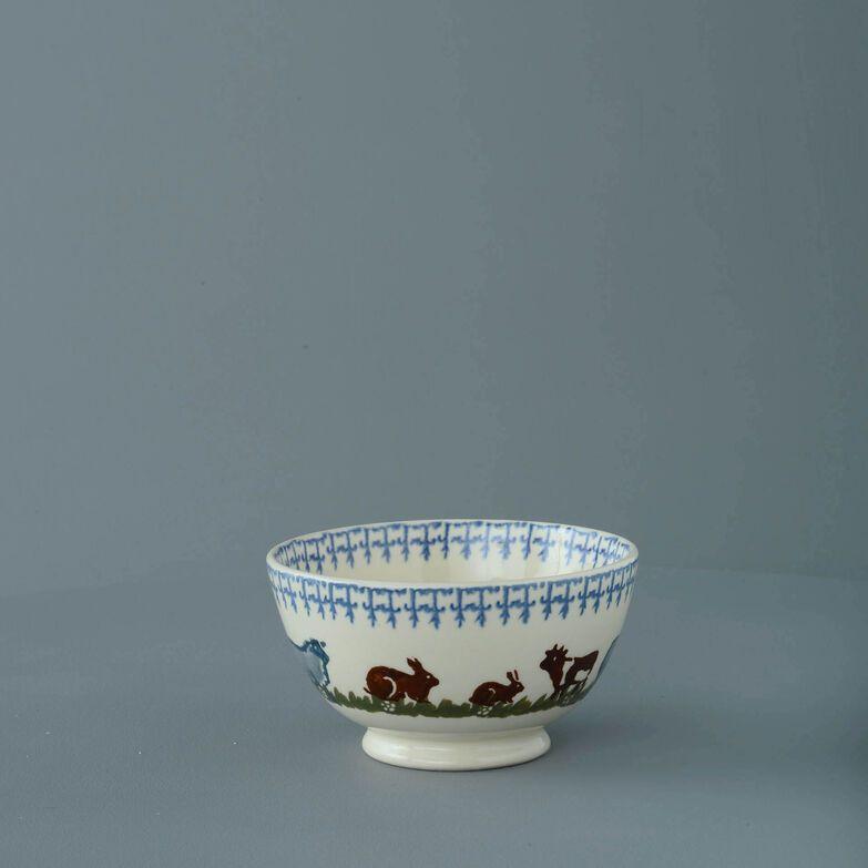 Bowl Cereal Size Farm Animal