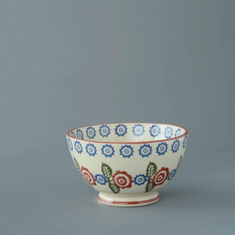 Bowl Soup Size Victorian Floral