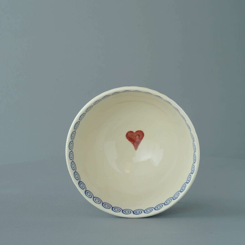 Bowl Soup Size Heart