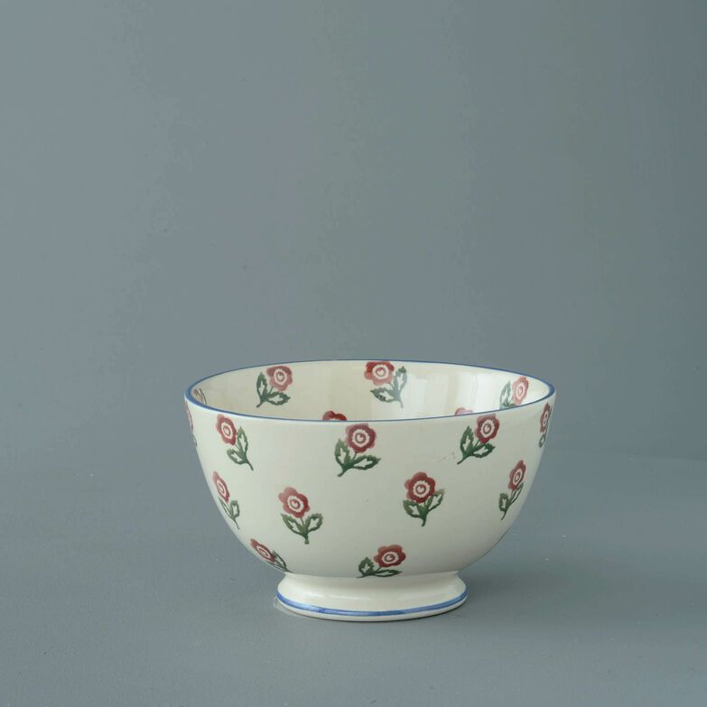 Bowl Soup Size Scattered Rose