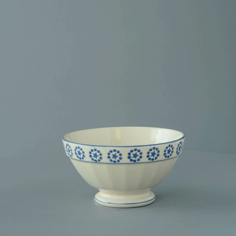 Bowl Large Blue Star