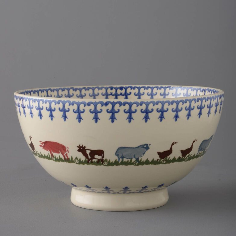 Bowl Serving Farm Animal