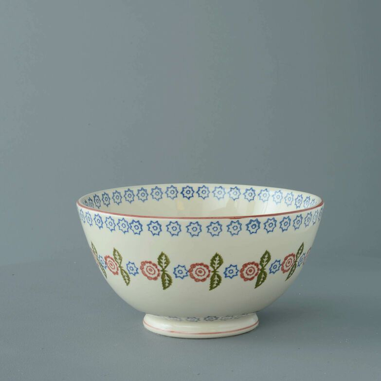 Bowl Serving Victorian Floral