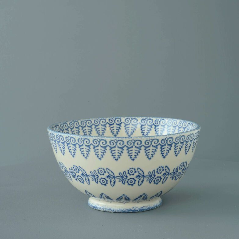 Bowl Serving Lacey Blue