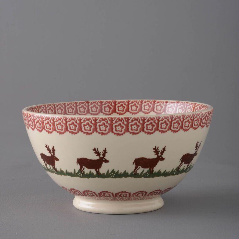 Bowl Serving Reindeer