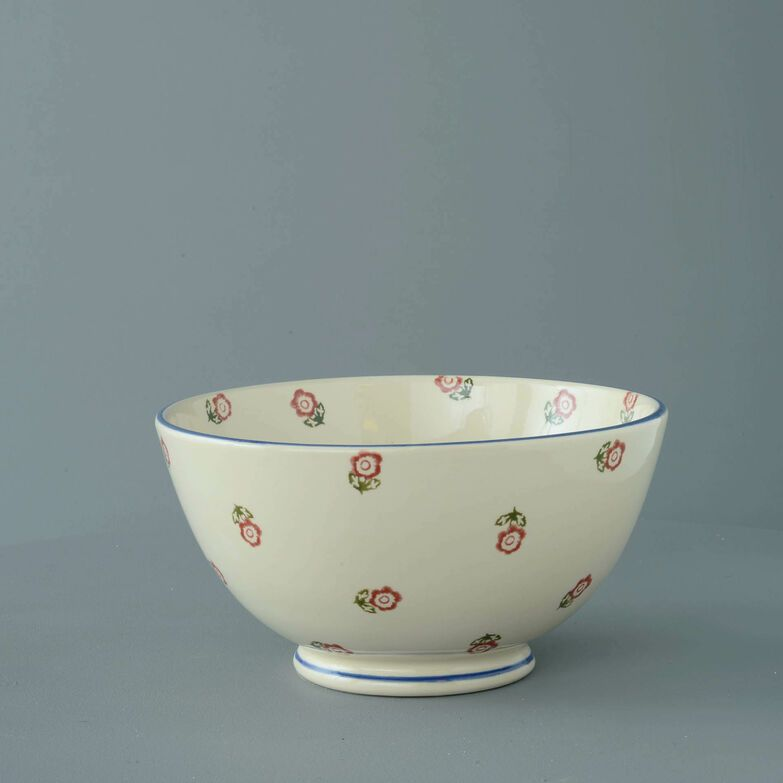 Bowl Serving Scattered Rose